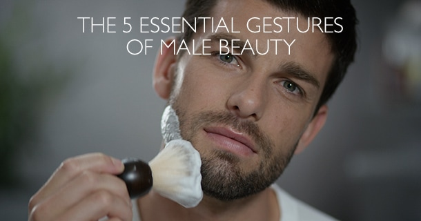 5 Essential Gestures Of Male Beauty