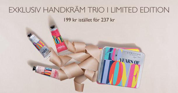 Exklusiv handkräm trio i limited edition