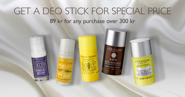 Get a Deo stick for special price