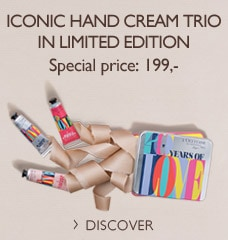 Iconic hand cream trio in Limited edition