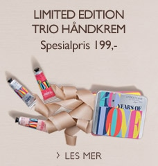 Limited edition trio håndkrem