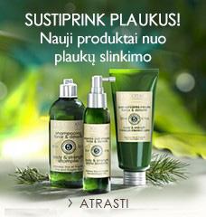 SUSTIPRINK PLAUKUS! Nauji produktai nuo plaukų slinkimo