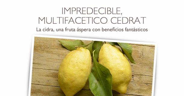 Cidra, fruta aspera con beneficios fantasticos