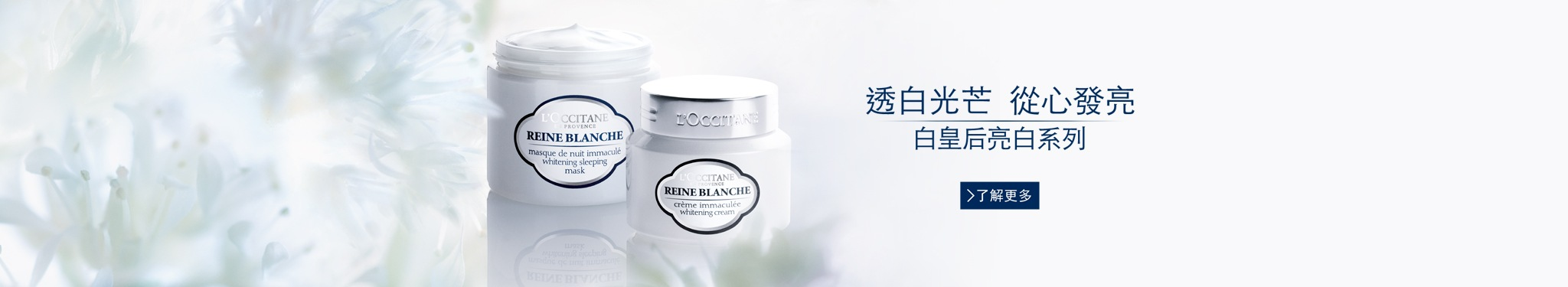 Reine Blanche Skincare Products