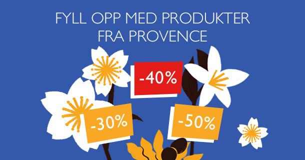 Fyll opp med produkter fra Provence