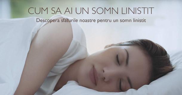 Cum sa ai un somn linistit