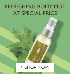 Refreshing body mist at special price