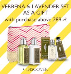 Verbena & Lavender Set as a Gift