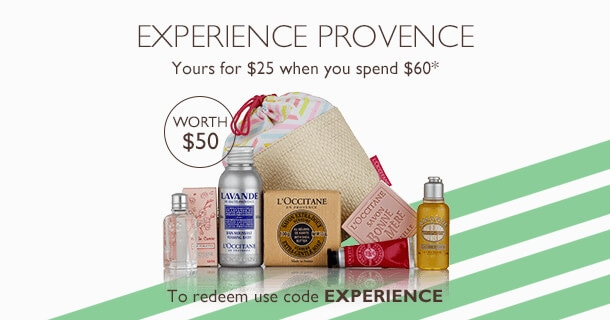 receive for $25 when you spend $60 (valued at $60)