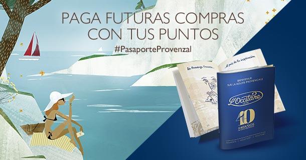 Pasaporte Provenzal: Paga futuras compras con tus puntos