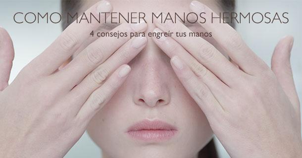 4 tips para mantener la belleza de tus manos