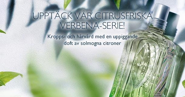 Upptäck vår citrusfriska Verbena-serie!