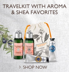 Travelkit with Aroma & Shea favorites