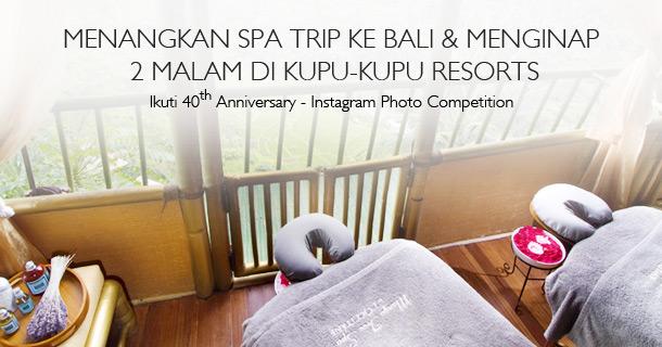 Win Spa Trip to Bali