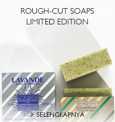 Rough-cut soap