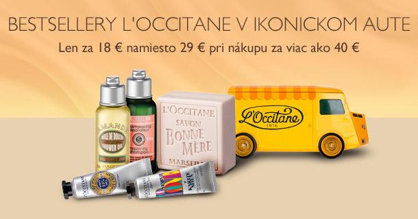 Bestsellery L'Occitane v ikonickom aute
