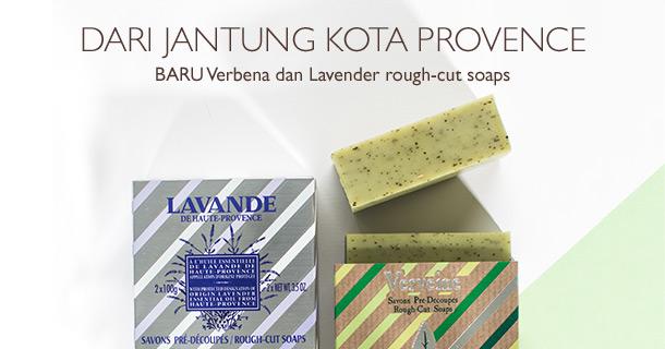 Baru, Verbena dan Lavender Rough Cut Soap