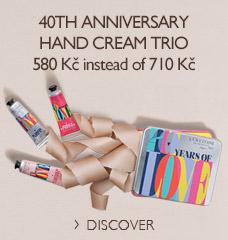 40th Anniversary Hand Cream Trio