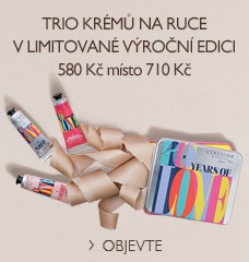Trio krémů na ruce v limitované výroční edici