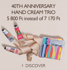 40th Anniversary Hand Cream Trio