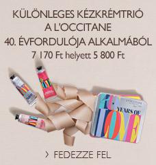 Különleges kézkrémtrió a L'OCCITANE 40. évfordulója alkalmából