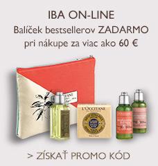 IBA ON-LINE – Balíček bestsellerov ZADARMO