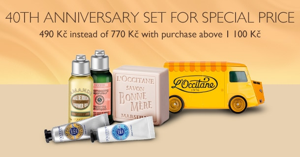 40th Anniversary Set for Special Price