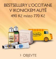 Bestsellery L'Occitane v ikonickém autě