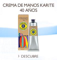 Crema de Manos Karité 40 Años