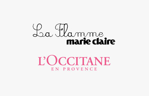 LA FLAMME - MARIE CLAIRE - L'Occitane