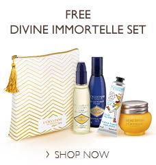 FREE Divine Immortelle Set