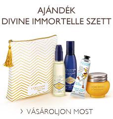 Ajándék Divine Immortelle Szett