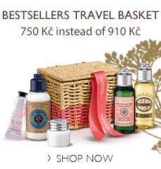 Bestsellers Travel Basket