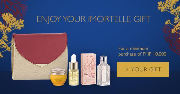 Enjoy Your Immortelle Gift