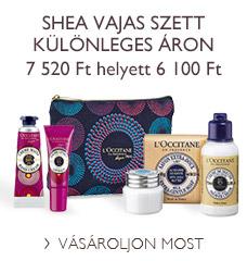 Shea vajas szett különleges áron