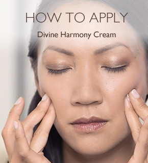 How To Apply Divine Harmony Cream
