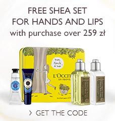 FREE Shea&Verbena Set for Hand and Lips