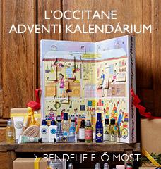 L'Occitane Adventi Kalendárium
