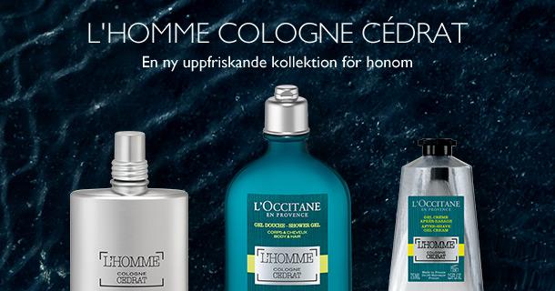 L'Homme Cologne Cédrat