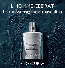 L'HOMME CEDRAT La nueva fragancia masculina