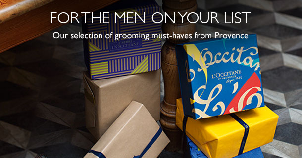 For the men on your list