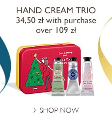 Hand Cream Trio for Special Pricet