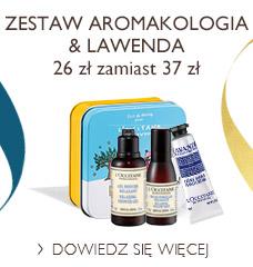 Zestaw Aromakologia & Lawenda