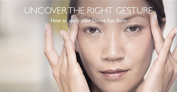 How To Apply Divine Eye Balm