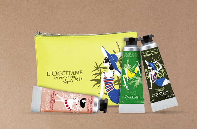 Limited Edition Hand Cream Trio for special price
