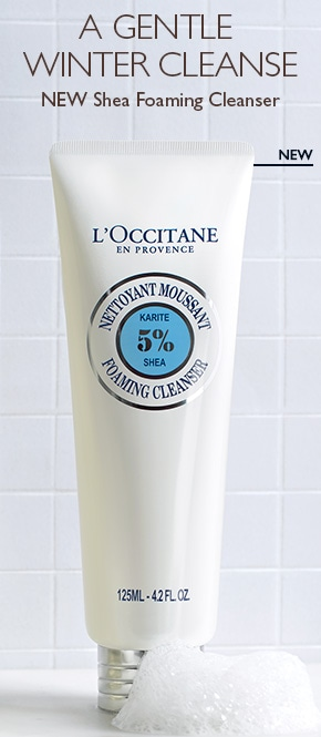 New Shea Foaming Cleanser
