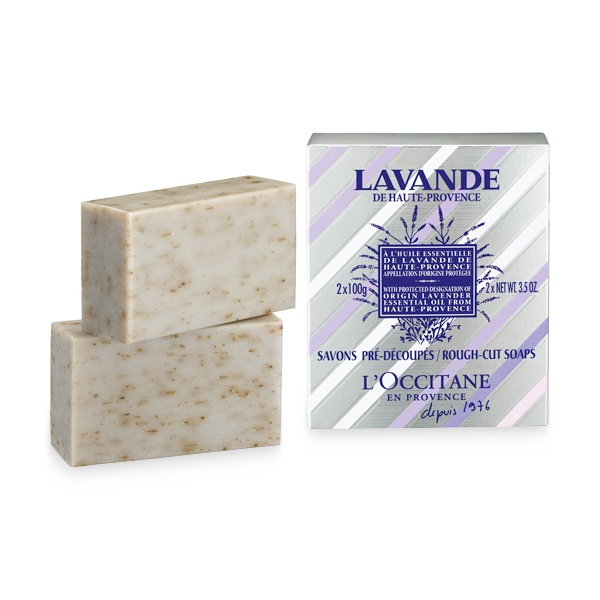 Jabón Exfoliante de Lavanda x2