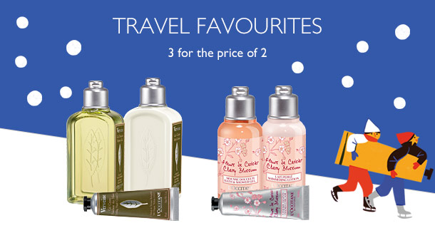 3 for 2 Travel Size Products