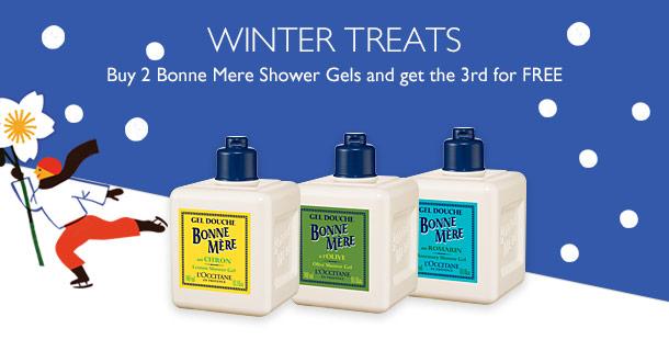 A Free Bonne Mere Shower Gel
