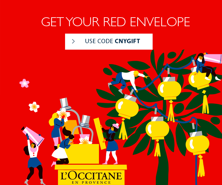 Receive an Ang Pao with min. purchase of Rp. 1.000.000 using code CNYGIFT
